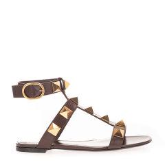 Valentino/华伦天奴 21年春夏 铆钉 女性 平跟凉鞋 VW0S0BU8ZWM图片