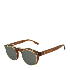 MontBlanc/万宝龙 精致 板材  合金 圆形镜框 男女款 防紫外线 太阳镜  双梁 墨镜 眼镜 MB0123S 004 49mm图片