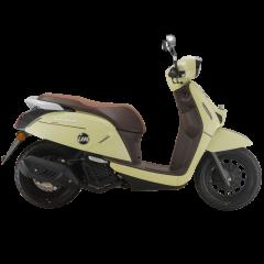 【定金】QJMOTOR壹米单缸四冲程无级变速踏板摩托车单侧水冷USB接口无钥匙启动图片