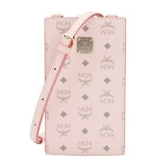 【国内现货】MCM/MCM女士VisetosOringinal系列礼盒装粉色人造革帆布/配皮革单肩斜挎手机包MXZBSVI01QH001图片