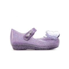 Mini Melissa梅丽莎蝴蝶包头公主风小童单鞋32849图片