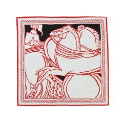 【礼盒装】时尚百搭小方巾EVER UGG/EVER UGG&TARRAMARRA 2021新款人造真丝空姐丝巾小领巾送女友送妈妈礼物 - TAZB2101图片