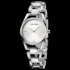 Calvin Klein/卡尔文·克莱因 瑞士进口专柜正品ck女表钢带ins风手表K7L2314T图片
