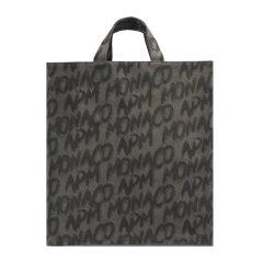 限量款 【现货】 APM MONACO/APM MONACO Graffiti系列女士拼色帆布经典字母徽标涂鸦印花手提袋手提包购物包托特包女包 ACCESS9GC 多款可选图片