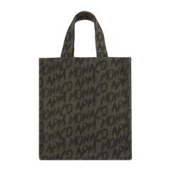 【包税 限量款】APM MONACO/APM MONACO Graffiti系列女士拼色帆布经典字母徽标涂鸦印花手提袋手提包购物包托特包女包 ACCESS9GC 多款可选图片