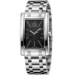 Calvin Klein/卡尔文·克莱因 CK手表方形表防水简约时尚男女同款K4P23141图片
