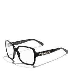 【爆款主推 预售】CHANEL/香奈儿 明星同款 欧阳娜娜同款太阳镜 香奈儿眼镜女方形平光 近视光学 大框眼镜架墨镜 近视镜框 型号ch5408图片