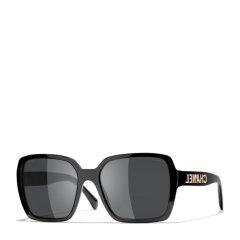 【爆款主推 国内现货秒发】CHANEL/香奈儿 明星同款 欧阳娜娜同款太阳镜 香奈儿眼镜女方形平光 近视光学 大框眼镜架墨镜 近视镜框 型号ch5408图片