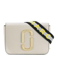 【包税】Marc Jacobs/马克雅各布斯 SNAPSHOT系列女士纯色经典金属徽标装饰翻盖开合单肩包斜挎包链条包腰包女包 M0014319 多色可选图片