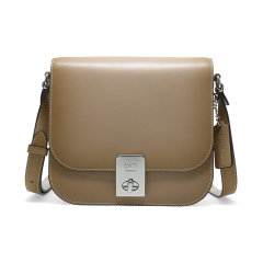 【包税】COACH/蔻驰  HUTTON SADDLE女士旋扣单肩斜挎包 610图片