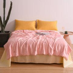 Fantti /芬缇  床上用品60S兰精天丝大豆纤维抗菌夏被可水洗空调被夏凉被夏季单双人薄被床品套件图片