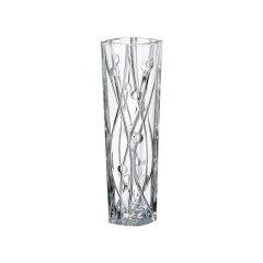 进口水晶玻璃小花瓶透明 单支北欧轻奢简约 办公室办公桌餐厅图片