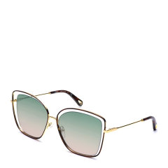 CHLOE/克洛伊  女士渐变镜片金属镜框方形眼镜墨镜太阳镜 133S图片