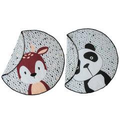 PLAY POUCH/普澳乐.博驰 熊猫宝宝/鹿宝宝玩具袋游戏垫合一图片