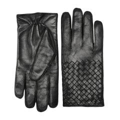 【包税】Bottega Veneta/葆蝶家 BV /葆蝶家 女士纯色小羊皮手背编织装饰手套 356650-V5100 多色可选图片