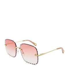 CHLOE/克洛伊  女士渐变镜片无镜框方形花边眼镜墨镜太阳镜 161S图片