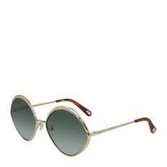 CHLOE/克洛伊  女士渐变镜片金属镜框飞行员墨镜眼镜太阳镜 168S图片