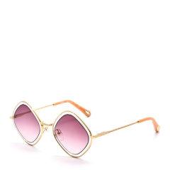 CHLOE/克洛伊  女士渐变镜片金属镜框菱形眼镜墨镜太阳镜 165S图片