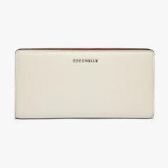 COCCINELLE/可奇奈尔 METALLIC BICOLOR 皮夹 卡包 钱夹 牛皮革图片