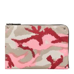 Valentino/华伦天奴 男士尼龙迷彩风短款手拿包钱包男包 RY2B0457-EFI 多色可选图片