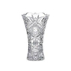 BOHEMIA捷克原装进口水晶花瓶玻璃经典设计 轻奢摆件透明图片