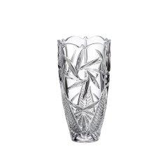 BOHEMIA 捷克原装进口水晶玻璃风车款花瓶 台面花瓶 家居摆件图片