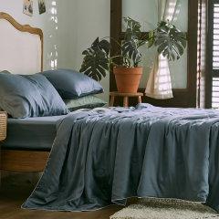 GeleiStory/GeleiStory 2021夏季新款轻奢极简主义冰感天丝夏凉被一触即凉细腻亲肤夏凉被空调被床上用品被子夏被 床上用品>被子/被芯图片