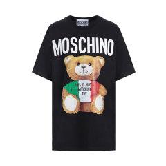 【包税】MOSCHINO/莫斯奇诺 Italian三色熊女士短袖T恤小熊E V0708 0540图片
