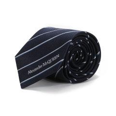 Alexander McQueen/亚历山大麦昆 2021款 男士桑蚕丝领带 623105 4002E图片
