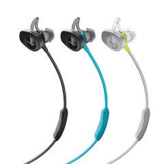Bose SoundSport wireless无线运动耳机-黑色 蓝牙 防掉落耳塞 手机耳机 入耳式颈挂式耳机图片