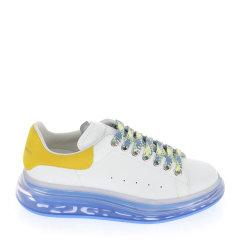 ALEXANDER MCQUEEN 亚历山大·麦昆 女士 鞋靴 21春夏 白色厚底气垫圆头系带休闲运动鞋 女士休闲运动鞋图片