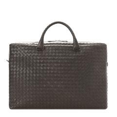 【包税】Bottega Veneta/葆蝶家 BV  男士黑色商务休闲两用手提包公文包男包354386-VQ131-1000图片