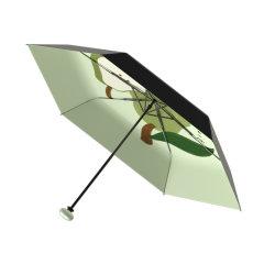 【新品上市|乐夏系列】MISS RAIN/MISS RAIN 乐夏系列防晒遮阳黑胶晴雨伞防紫外线男女便携超轻太阳伞 有效阻隔紫外线99% UPF50+ 轻松防晒图片