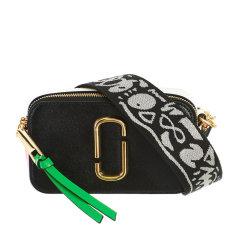 【包税 现货】Marc Jacobs/马克雅各布斯 SNAPSHOT系列女士拼色牛皮经典金属徽标装饰拉链开合单肩包斜挎包相机包女包 M0012007 多色可选图片