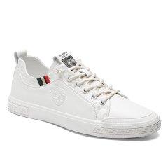 波士威尔  男鞋夏季透气 欧洲站小白鞋 男百搭潮流低帮新款 小蜜蜂休闲男士板鞋图片