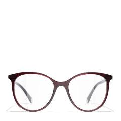 【预售】CHANEL/香奈儿 2021年新款Chanel香奈儿眼镜框板材近视光学超轻圆框眼镜架CH3412图片