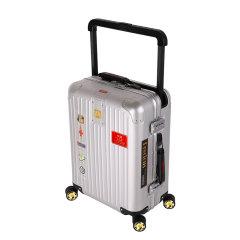 LIEMOCH/利马赫  新英皇AIR 铝镁合金拉杆箱 男女万向轮轻便密码箱行李箱  送男士真皮钱包图片