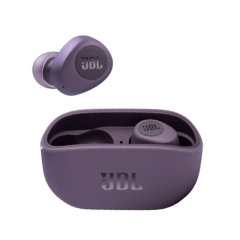 JBL/JBL 真无线蓝牙耳机入耳式音乐耳机W100TWS 通话降噪双耳传输小米华为苹果手机带麦游戏耳机图片