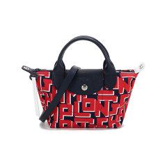 【国内现货】Longchamp/珑骧 2021款 女士迷你款LE PLIAGE系列织物短柄手提单肩斜挎包饺子包 1500 412图片