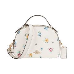 【包税】COACH/蔻驰 女士时尚单肩斜挎手提包  1591白色图片