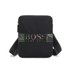 HUGO BOSS/雨果博斯 2021款 男士其它多元安纤维(循环利用)单肩斜挎包信封包 50454196图片