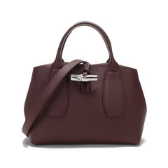 Longchamp/珑骧 女士ROSEAU系列牛皮小号手提单肩斜挎包 10095 HPN图片