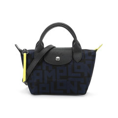 Longchamp/珑骧 2021款 女士迷你款LE PLIAGE系列织物短柄手提单肩斜挎包饺子包 1500 412图片