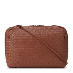 Bottega Veneta/葆蝶家 女士编织图案单肩包斜挎包女包 245355-V0016多色可选图片