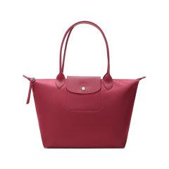 Longchamp/珑骧 女士LEPLIAGENEO系列小号织物长柄手提单肩包饺子包 2605 598图片