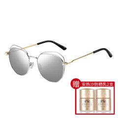 【赠安热沙防晒12ml*2只】Jimmy Choo/周仰杰 2021年新款女士太阳镜 墨镜 明星眼镜框 复古眼镜 FRANNY/S图片