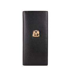 LIEMOCH/利马赫  黑色长款经典商务头层牛皮男士钱包时尚款图片
