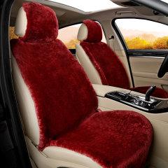 纳图   汽车新款冬季澳洲进口纯天然羊毛坐垫  毛绒坐垫  毛坐垫 冬季座垫 送羊毛头枕和腰靠图片