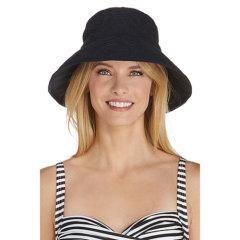 Coolibar 多国防晒机构认证 Crochet 防氯防海水腐蚀 沙滩女士遮阳帽 UPF50+图片