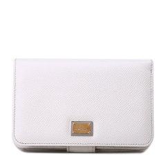 【可用劵】Dolce&Gabbana/杜嘉班纳小型皮具-女士白色牛皮皮票夹图片